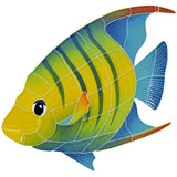 Banded Angelfish - Swimming Pool Mosaic Tile