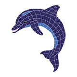Dolphin - Swimming Pool Mosaic Tile