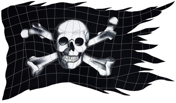Jolly Roger Flag - Swimming Pool Mosaic Tile