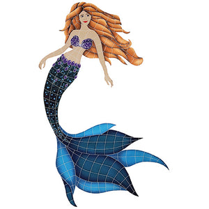 Mermaid Swimming Pool Mosaic Tile | Mermaid Tile