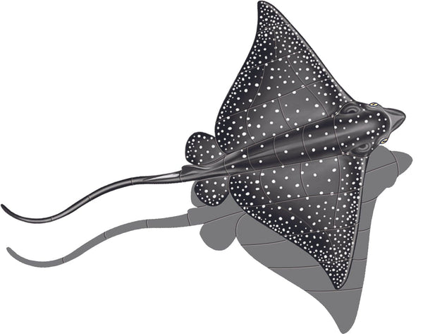 Spotted Eagle Ray Shadow - Two Sizes