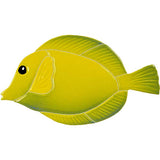 Yellow Tang Fish Swimming Pool Mosaic Tile