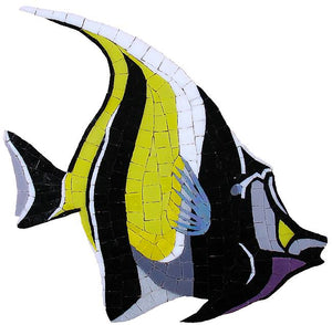 Moorish Idol Swimming Pool Mosaic Tile | Moorish Idol Tile