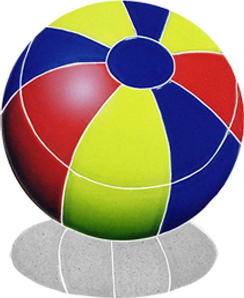 #2021 Beach Ball Shadow Small Multi-color