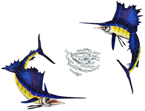 Sailfish Swimming Pool Mosaic Tile | Sailfish Tile