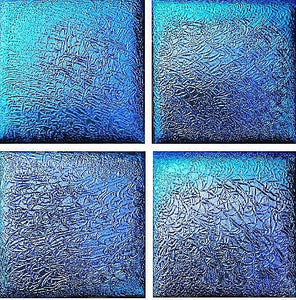 Step Marker Swimming Pool Mosaic Tile | Sapphire Fusion Step Marker Tile
