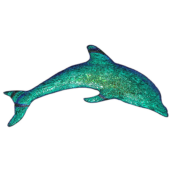 Step Marker Swimming Pool Mosaic Tile | Caribbean Fusion Dolphin Tile