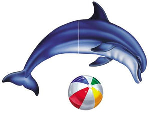 #6303 Single Dolphin Group Large