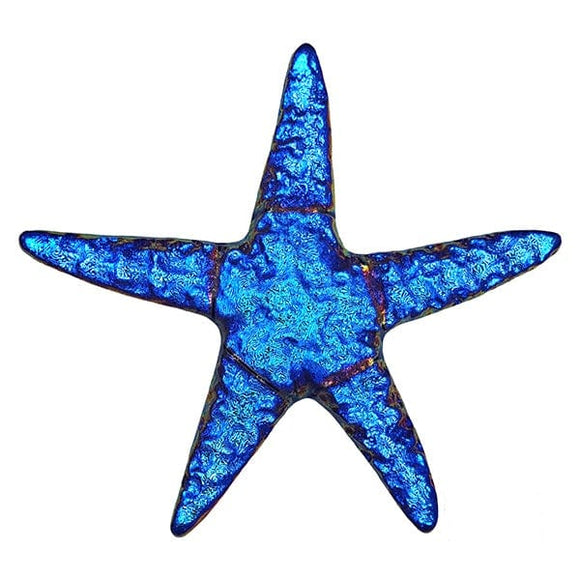 Step Marker Swimming Pool Mosaic Tile | Sapphire Fusion Starfish Tile