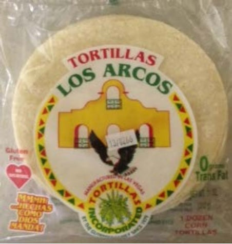 TORTILLA CORN 6' 12CT