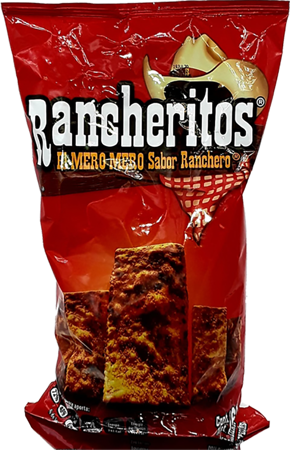 Rancheritos - Sabritas - Made in Mexico