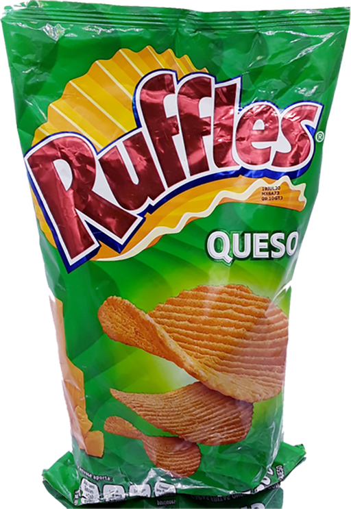 Ruffles Queso - Sabritas - Made in Mexico