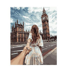 Take my Hand in London (Malen nach Zahlen Set)