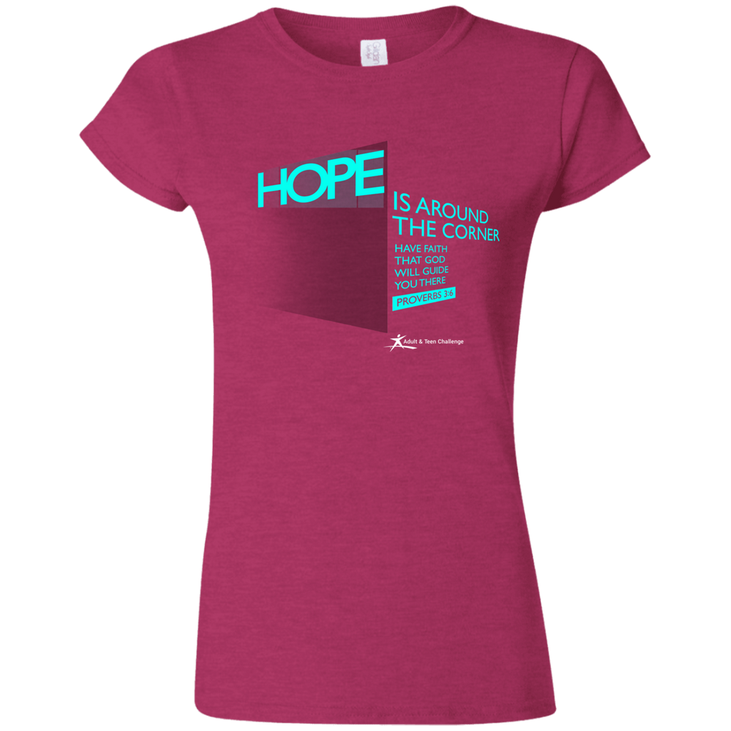 Teen Challenge USA - Women's Adult T-Shirt - Hope Corner