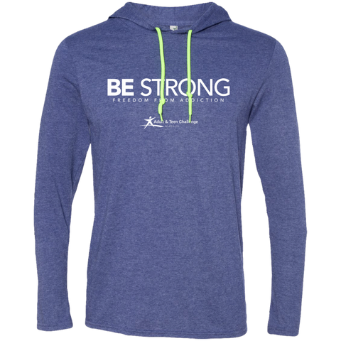 TC - Be Strong - Hooded T - Blue