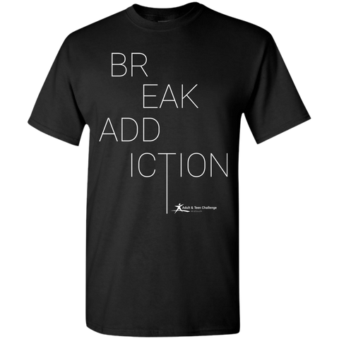 Teen Challenge MidSouth  - Adult T-Shirt - Black - Break Addiction
