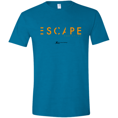 Teen Challenge USA - Adult T-Shirt - Antique Sapphire - Escape