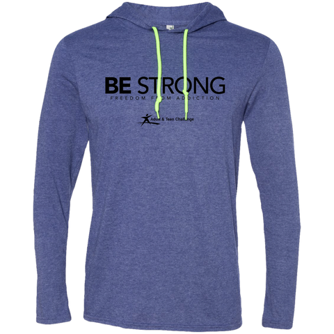 Teen Challenge USA - Adult Hooded T-Shirts - Be Strong