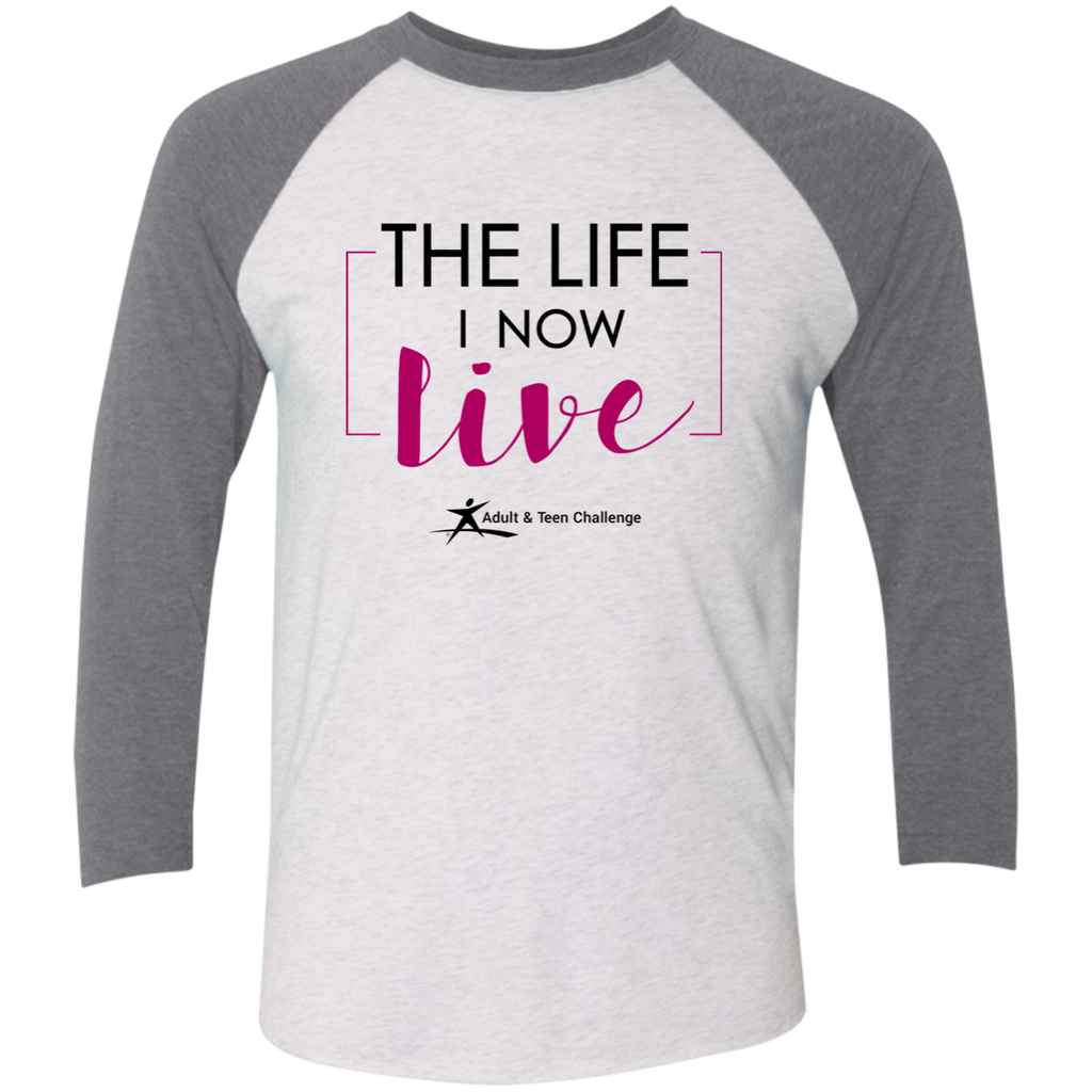 Teen Challenge USA - Adult Raglan T-Shirt - The Life