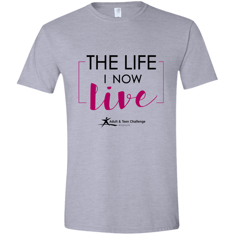 TC - The Life I Now Live - Adult T - Sport Gray