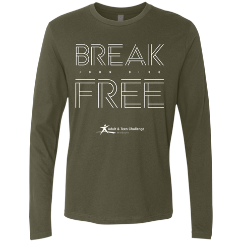 Teen Challenge MidSouth  - Adult Long Sleeve T-Shirt - Break Free