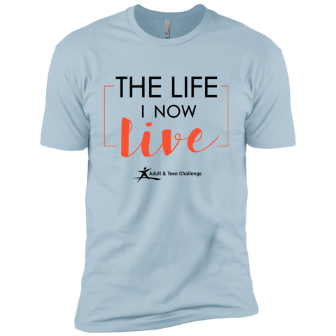 Teen Challenge USA - Adult T-Shirt - Light Blue - The Life