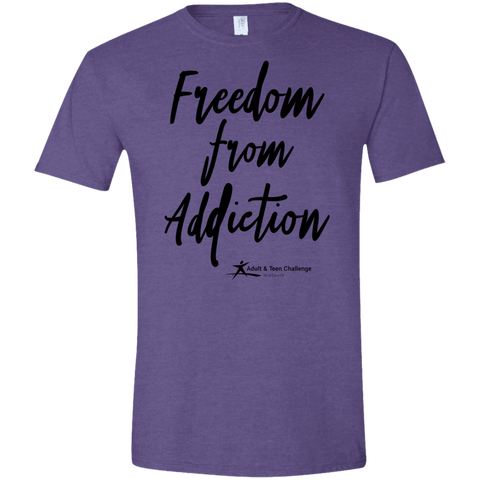 TC - Freedom From Addiction - Adult T - Heather Purple