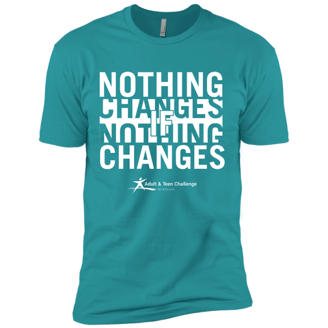 TC - Nothing Changes - Adult T - Blue