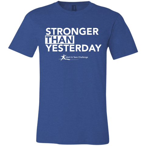 Teen Challenge MidSouth  - Adult T-Shirt - Heather Royal - Stronger Than