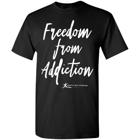 Teen Challenge MidSouth  - Adult T-Shirt - Black - Freedom From Addiction