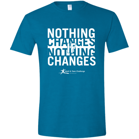 TC - Nothing Changes - Adult T - Antique Sapphire