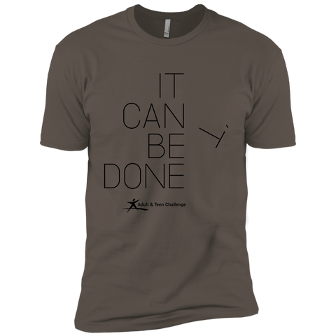 Teen Challenge USA - Adult T-Shirt - Grey - It Can Be Done