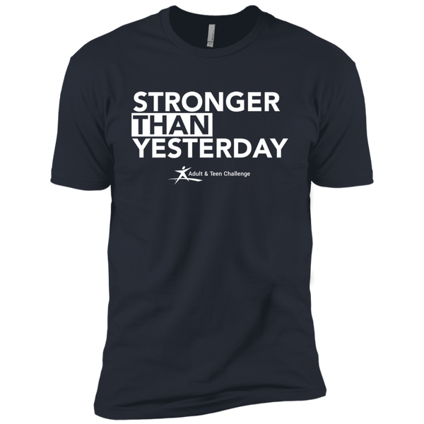 Teen Challenge USA - Adult T-Shirt - Indigo - Stronger Than