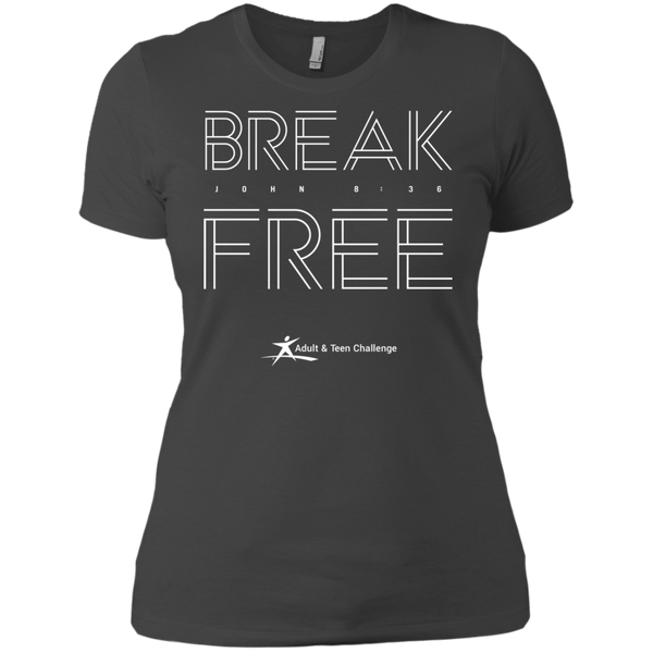Teen Challenge USA - Women's Boyfriend T-Shirt - Break Free
