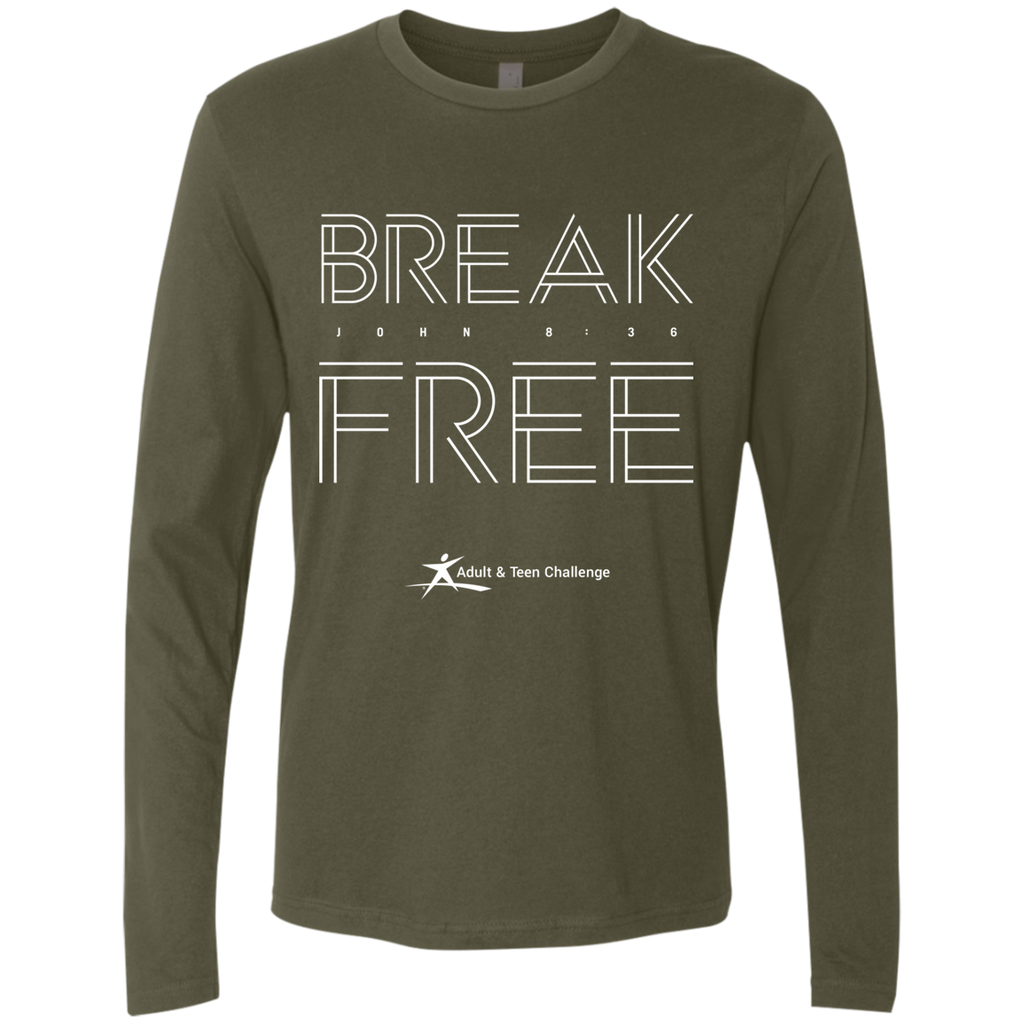Teen Challenge USA - Adult Long Sleeve T-Shirt - Break Free