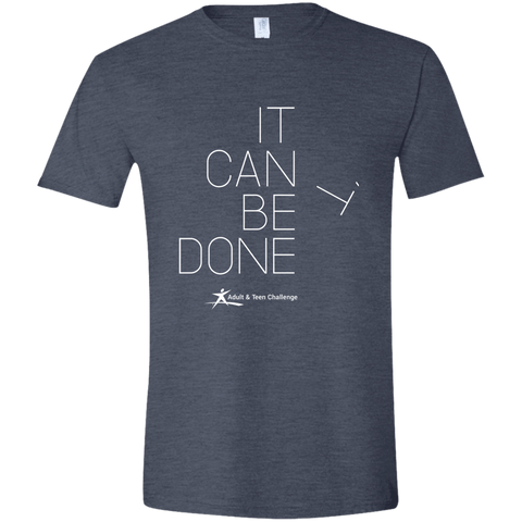 Teen Challenge USA - Adult T-Shirt - Heather Navy - It Can Be Done