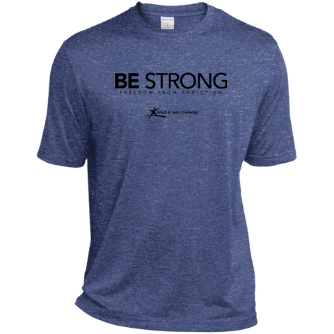 Teen Challenge USA - Adult T-Shirt - Blue - Be Strong