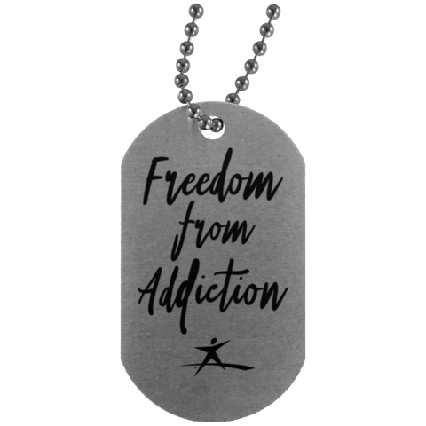 Teen Challenge USA - Dog Tag - Freedom From Addiction