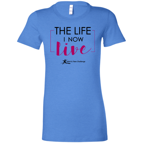 Teen Challenge USA - Women's Adult T-Shirt - Heather Royal - The Life