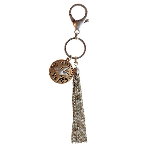 Faith Gear® Women's Keychain - Peace