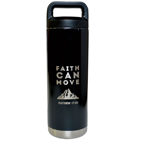 Faith Can Move Stainless Steel Bottle ™