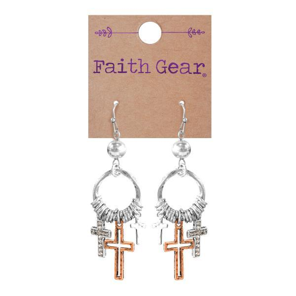 Mixed Crosses Women's Earrings