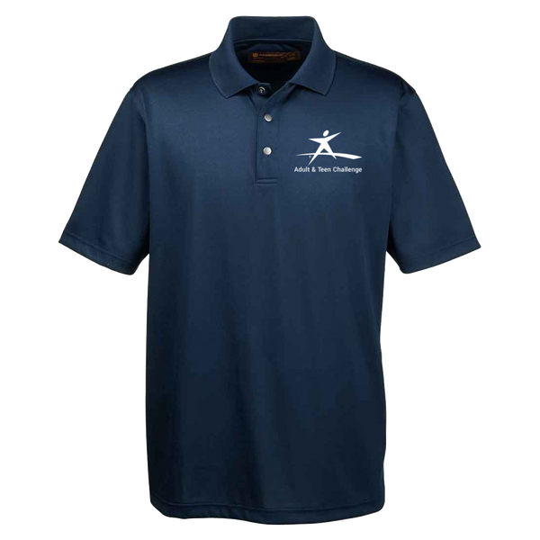 Teen Challenge USA - Performance Polo Shirt - Logo Gear