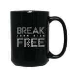 Teen Challenge MidSouth  - 15 oz. Mug - Black - Break Free