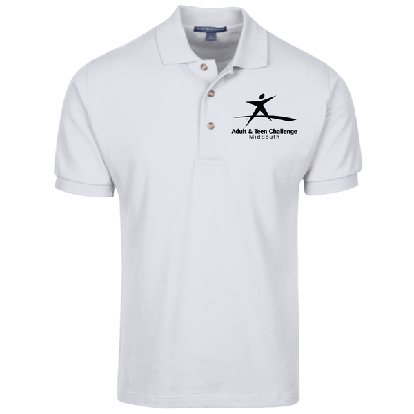 Teen Challenge MidSouth  - Adult Polo Shirt - MidSouth Logo