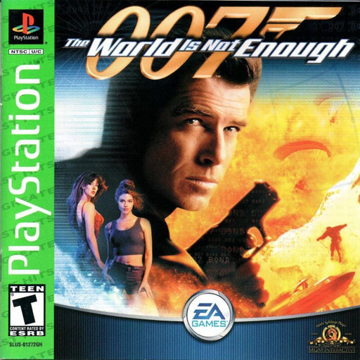 007 The World Is Not Enough - PlayStation 1