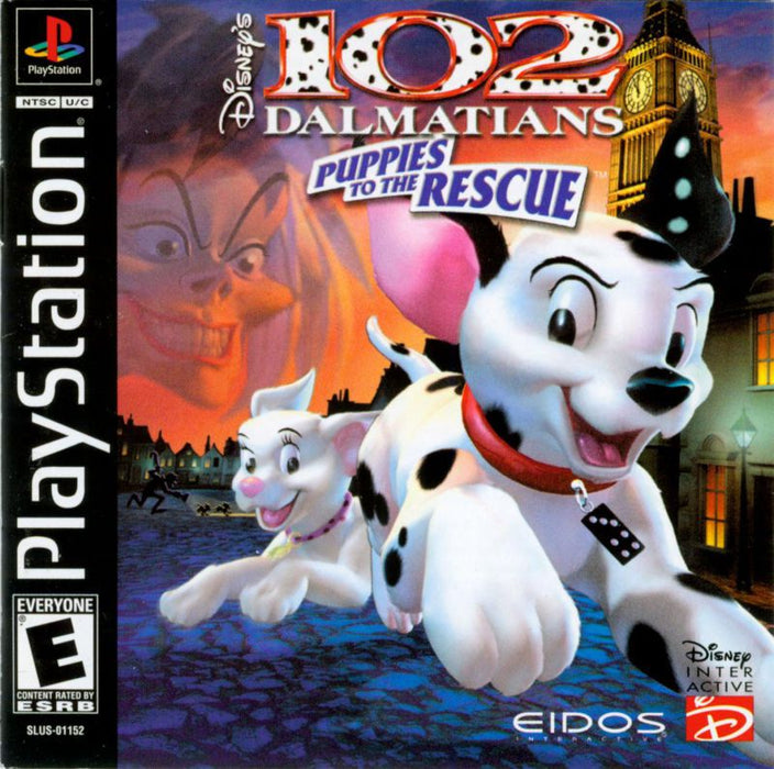 102 Dalmatians Puppies to the Rescue - PlayStation 1