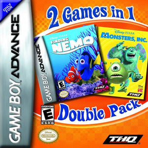2 Games In 1 Double Pack Finding Nemo  Monsters Inc.
