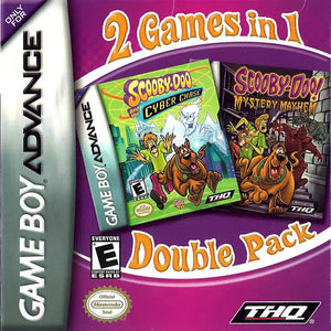 2 Games in 1 Double Pack Scooby-Doo and the Cyber Chase  Scooby-Doo! Mystery Mayhem