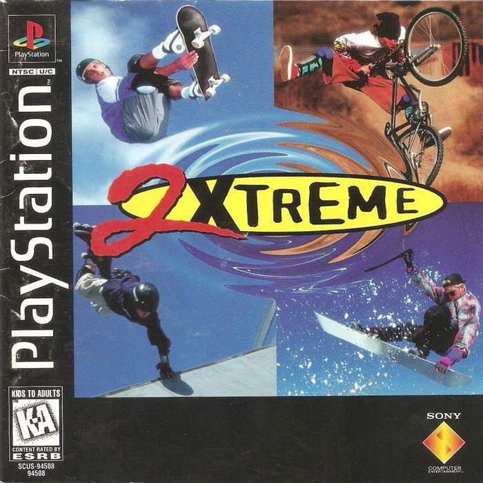 2Xtreme - PlayStation 1